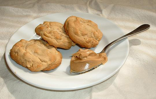 Triple Play Peanut Butter Cookies