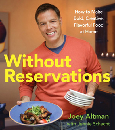 Joey Altman's first cookbook