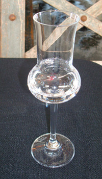 An eau de vie glass