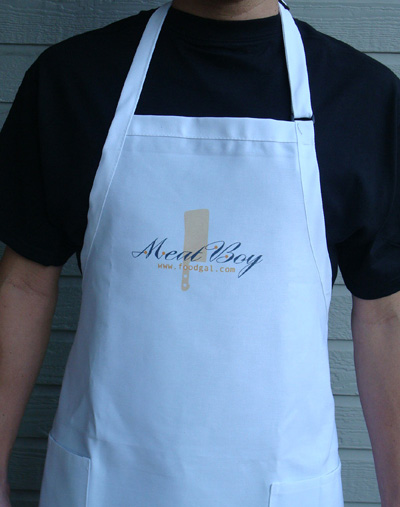 The perfect apron to don when grilling ribs and roasts.