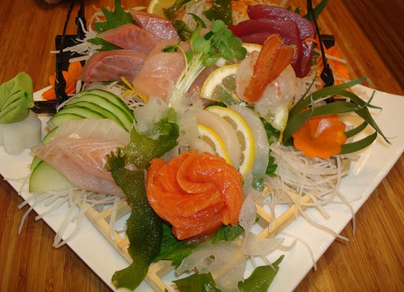 Beautiful -- and sustainable -- sashimi.