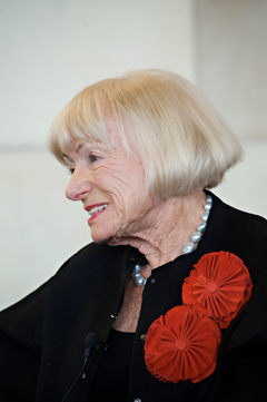 Margrit Mondavi. (Photo courtesy of UC Davis)