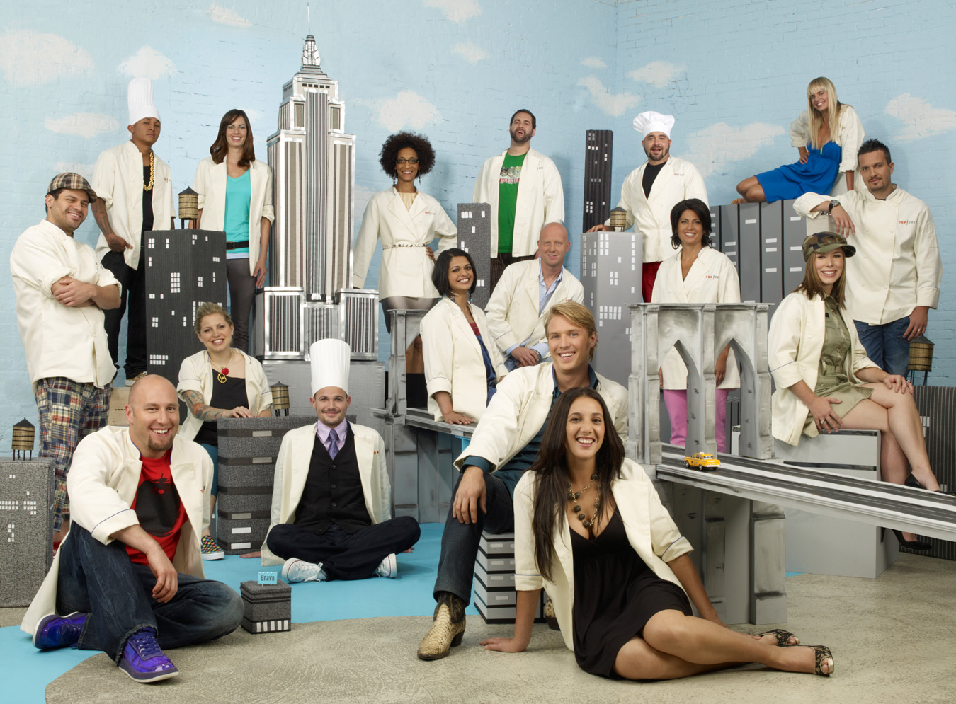 Meet the new Top Chef cast