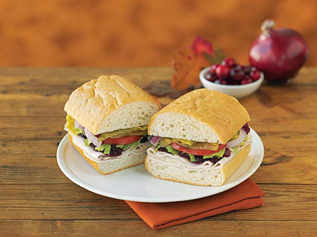 Togo\'s turkey-cranberry sandwich (Photo courtesy of Togo\'s)
