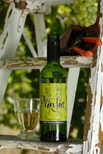 A quenching, non-tipsy beverage. (Photo courtesy of Napa VinJus)