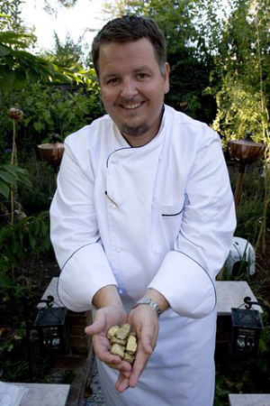 Google's first executive chef. (Photo courtesy of Charlie Ayers)