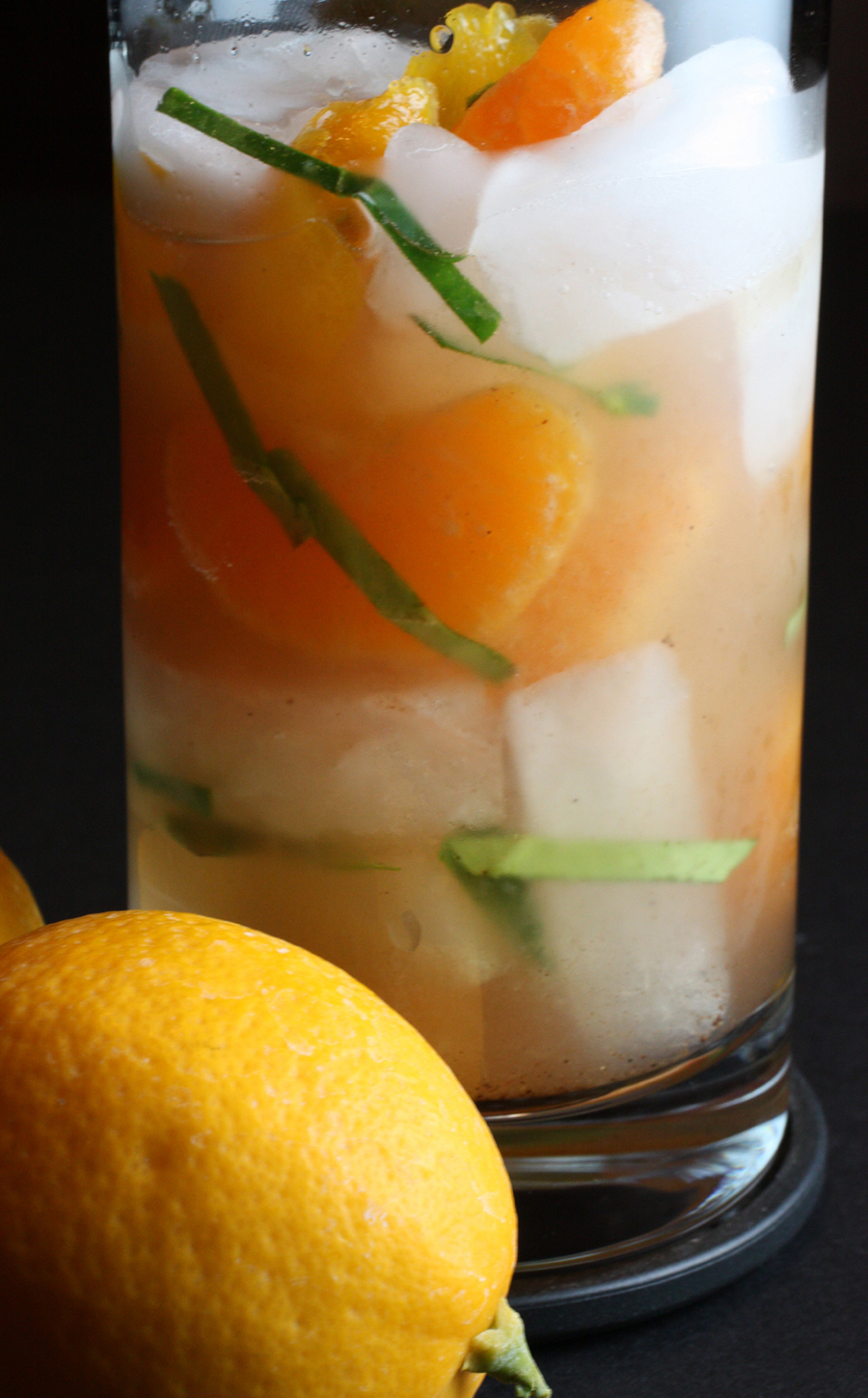 The citrus-infused Waverly Place Echo cocktail.