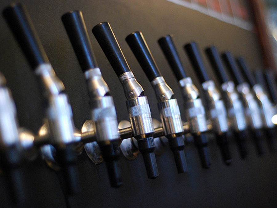 Beers galore. (Photo courtesy of Magnolia Pub)