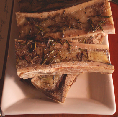 Irresistible bone marrow.