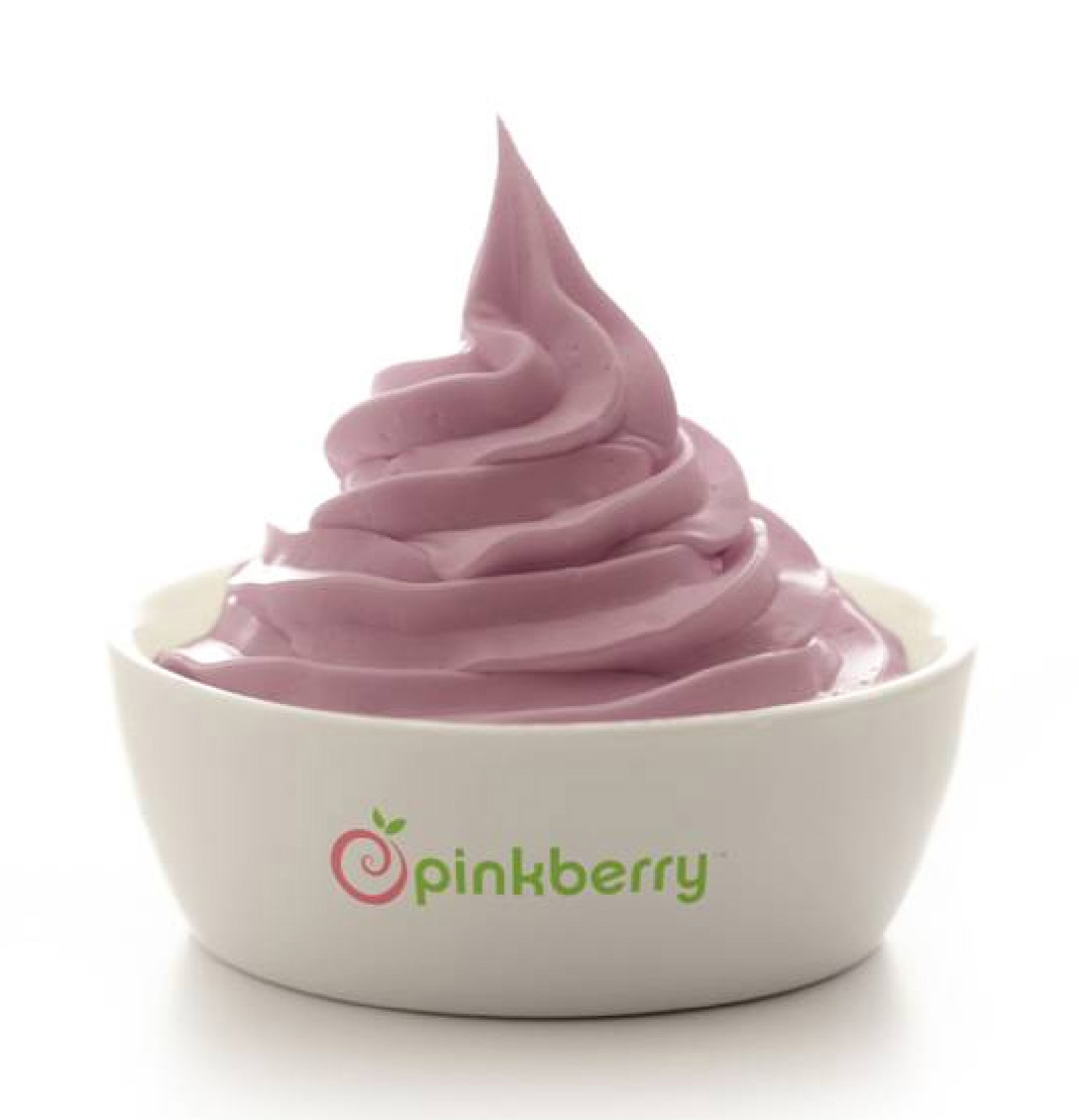 Pinkberry's new seasonal flavor, pomegranate. (Photo courtesy of Pinkberry)