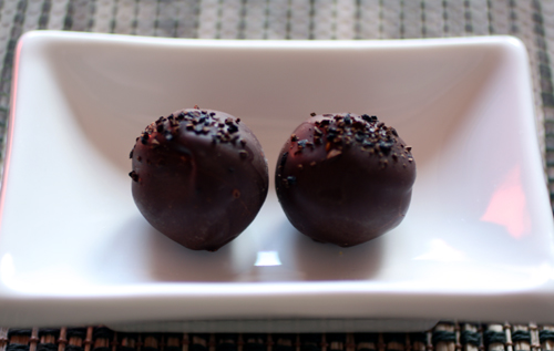 Vietnamese coffee truffles
