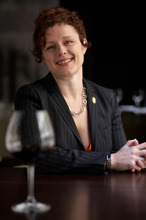 Master Sommelier Emily Wines (Photo courtesy of the Fifth Floor)