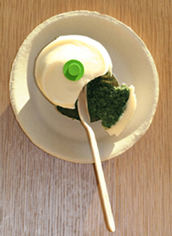 Green, it is! (Photo courtesy of Sprinkles Cupcakes)