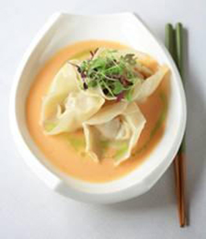 Butternut squash dumplings. (Photo courtesy of E&O Trading Company)