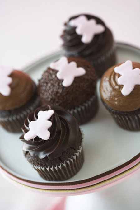 Chocolate cupcakes. (Photo courtesy of Kara's Cupcakes)