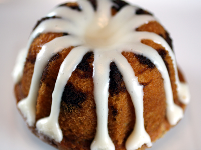 Marble bundt cake