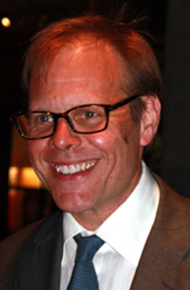 The jovial Alton Brown.