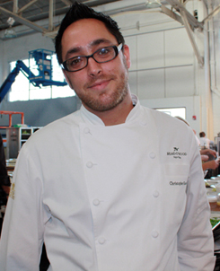 Chef Christopher Kostow of the Restaurant at Meadowood in St. Helena