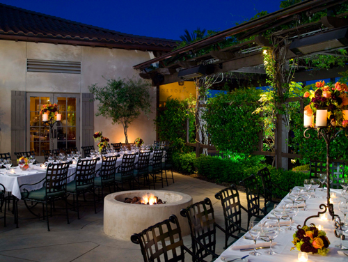 Cozy up to the Carneros Bistro's fire pits. (Photo courtesy of the Carneros Bistro & Bar)