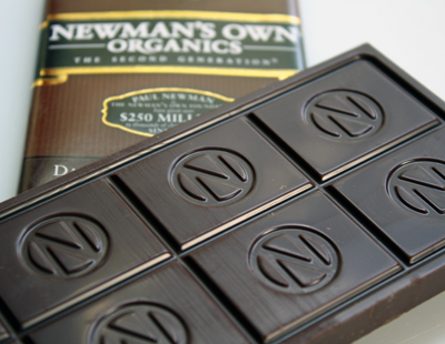 New Newman's Own Organics dark chocolate