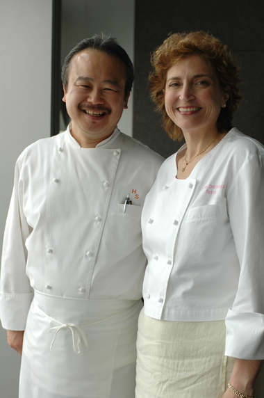 Husband and wife, chefs Hiro Sone and Lissa Doumani, of Ame in San Francisco. (Photo courtesy of Ame)