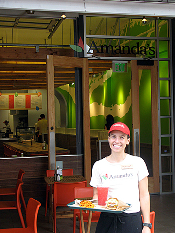 Amanda's Feel Good Fresh Food Restaurant celebrates its first anniversary. (Photo courtesy of the restaurant.)