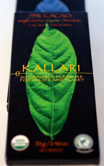 Chocolate that helps farmers in the Amazonian rainforests.