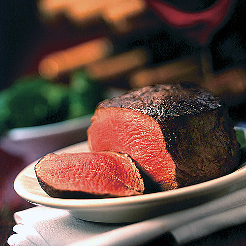 Wouldn't you love to sink your teeth into this juicy filet? One winner can. (Photo courtesy of Morton's)