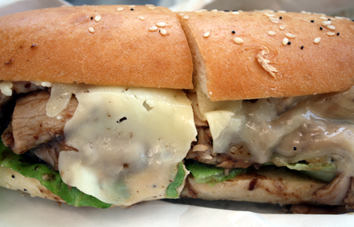 A masterful, melty goodness of a sandwich.