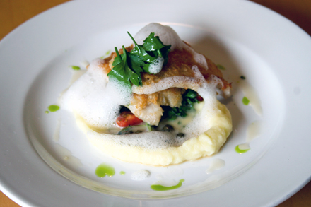 Petrale sole picatta at the Lake Chalet. (Photo courtesy of the restaurant)