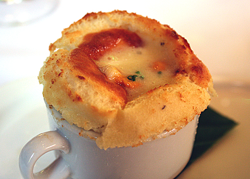 A signature souffle to swoon over.
