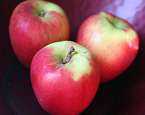 Jazz apples that make your appetite sing.