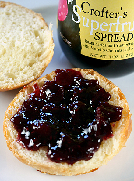 A thick, tasty fruit spread loaded with antioxidants.