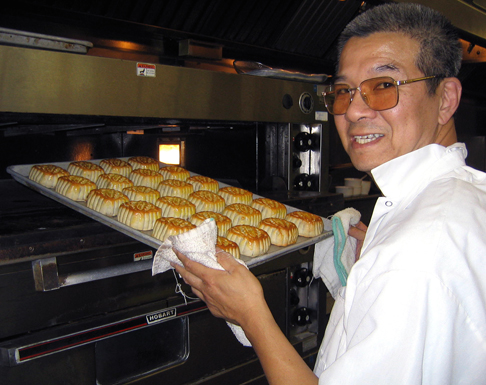 Fresh mooncakes at Ming's. (Photo courtesy of Ming's Chinese Cuisine & Bar)