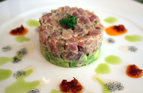 An ahi tower.