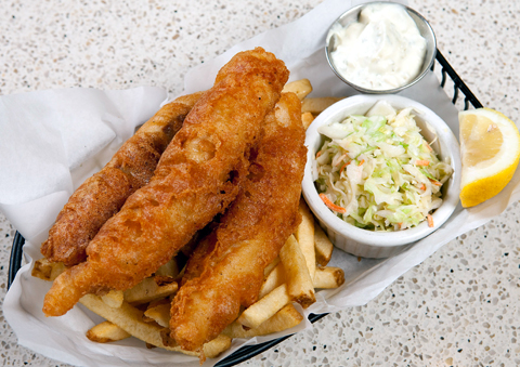 Yankee Pier's fish & chips. (Photo courtesy of the restaurant)