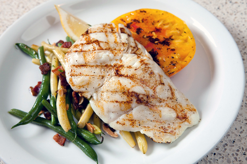Enjoy grilled halibut at Yankee Pier Lafayette on Thursday to help a good cause. (Photo courtesy of Yankee Pier)