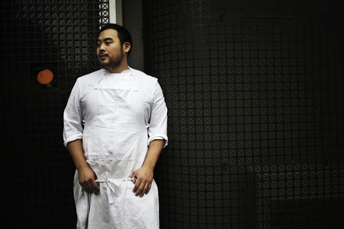 Chef David Chang gets ready to take on San Francisco. (Photo courtesy of Gabriele Stabile)