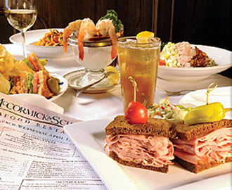 Items for $10 or less at McCormick & Schmick's. (Photo courtesy of the restaurant)