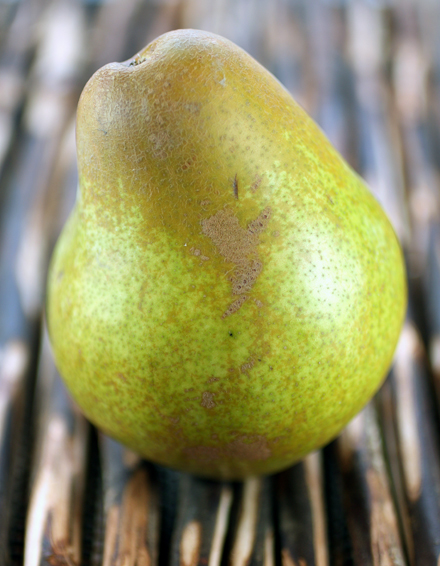 The wonderfully honey-like Warren pear.