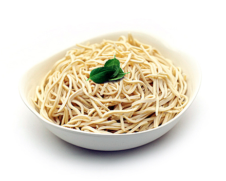 Noodles made of soy. (Photo courtesy of Hodo Soy Beanery)