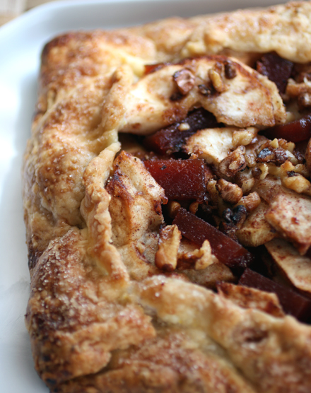 A crust to bring tears to your eyes. And a filling with a secret ingredient.
