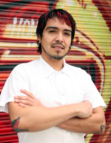 Luis Villavelazquez, executive pastry chef of Absinthe in San Francisco. (Photo courtesy of the restaurant)