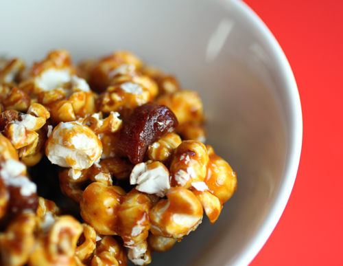 Bacon caramel corn. Oh my!