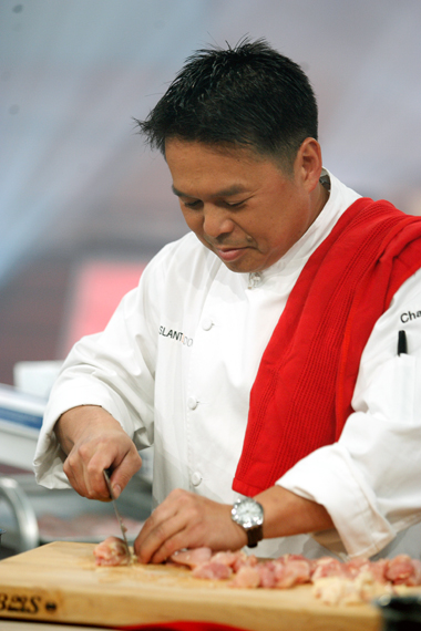 "Charles Phan battles on ""Iron Chef America'' this Sunday. (Photo courtesy of the Food Network)"