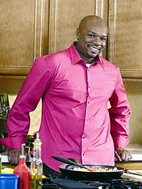 Chef Aaron McCargo, Jr. (Photo courtesy of the Food Network)