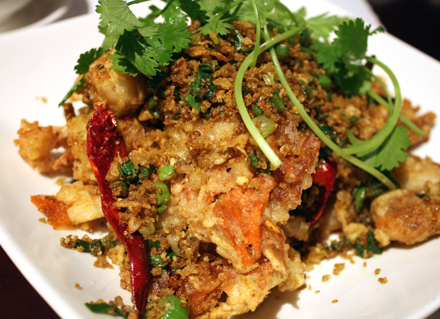 Crunchy soft-shell crab with irresistible panko bread crumbs.