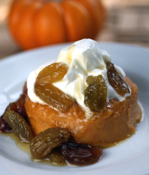 A pumpkin dessert that's not pie.