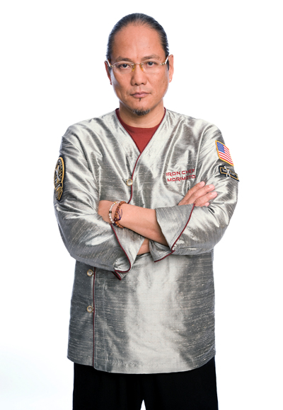 A trim Chef Masaharu Morimoto. (Photo courtesy of the Food Network)