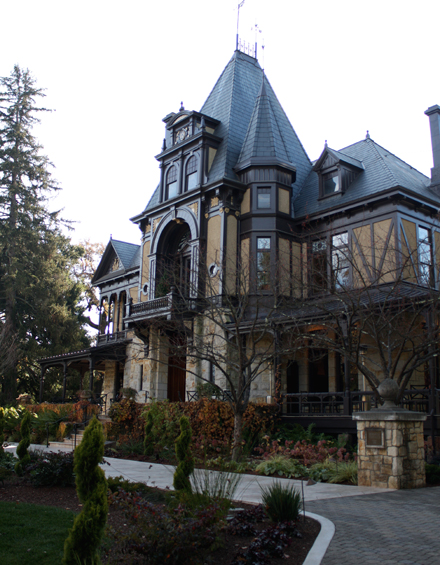 The glam Rhine House at Beringer.